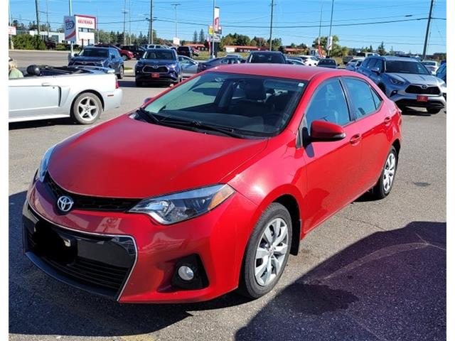 2016 Toyota Corolla S (Stk: P6731) in Sault Ste. Marie - Image 1 of 1