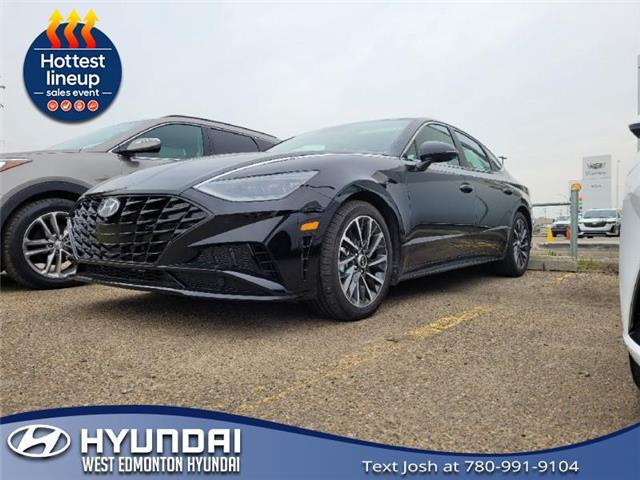 2021 Hyundai Sonata Ultimate (Stk: SN16121T) in Edmonton - Image 1 of 5