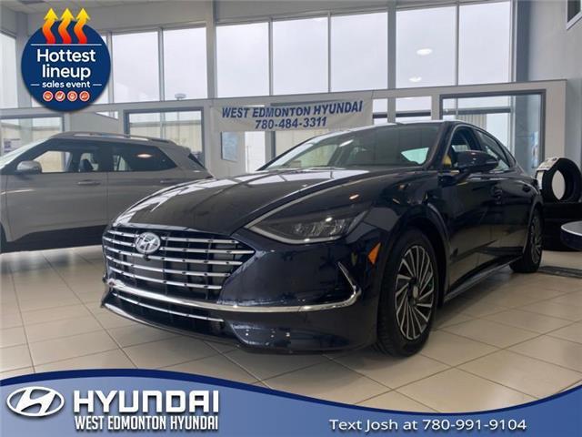 2021 Hyundai Sonata Hybrid Ultimate (Stk: SH14326) in Edmonton - Image 1 of 3