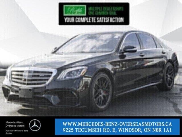 2019 Mercedes-Benz AMG S 63 Base (Stk: PM8152) in Windsor - Image 1 of 22