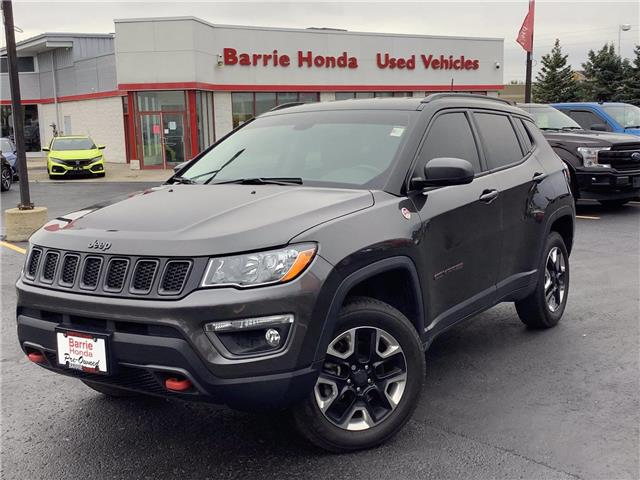 2018 Jeep Compass Trailhawk (Stk: 11-21855A) in Barrie - Image 1 of 27
