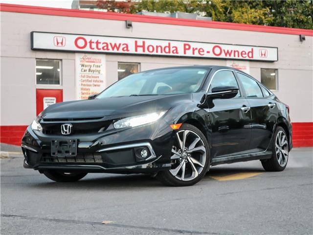 2019 Honda Civic Touring (Stk: 349061) in Ottawa - Image 1 of 29