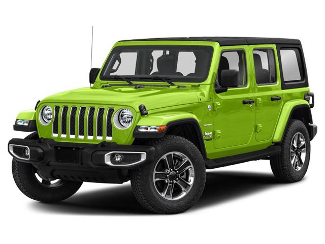 2021 Jeep Wrangler Unlimited Sahara (Stk: ) in London - Image 1 of 9