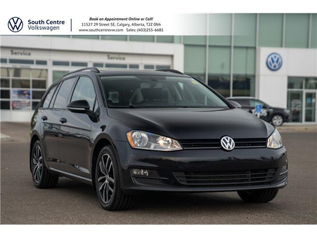 2017 Volkswagen Golf SportWagen 1.8 TSI Comfortline (Stk: U6801) in Calgary - Image 1 of 39