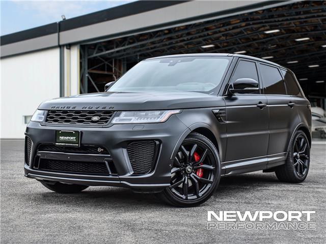2020 Land Rover Range Rover Sport SVR (Stk: NP1060) in Hamilton, Ontario - Image 1 of 46