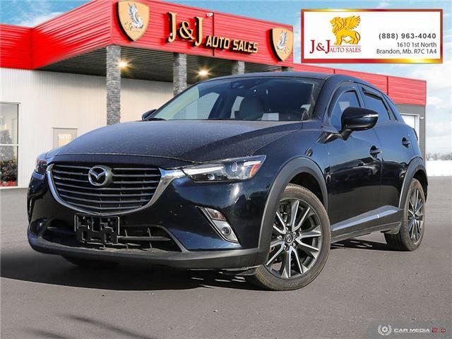 2017 Mazda CX-3 GT (Stk: JB21155) in Brandon - Image 1 of 27