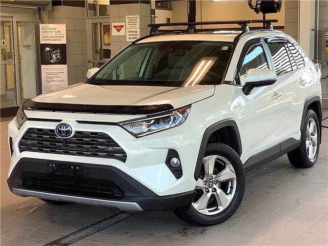 2019 Toyota RAV4 Hybrid Limited (Stk: P19623) in Kingston - Image 1 of 12