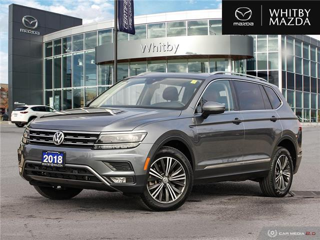 2018 Volkswagen Tiguan Highline (Stk: 210823A) in Whitby - Image 1 of 27