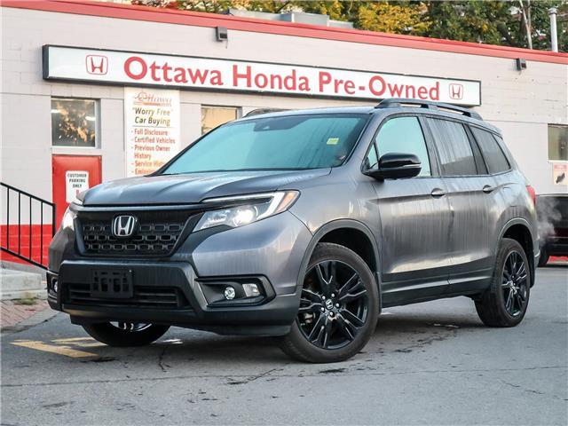 2019 Honda Passport Sport (Stk: H93110) in Ottawa - Image 1 of 30