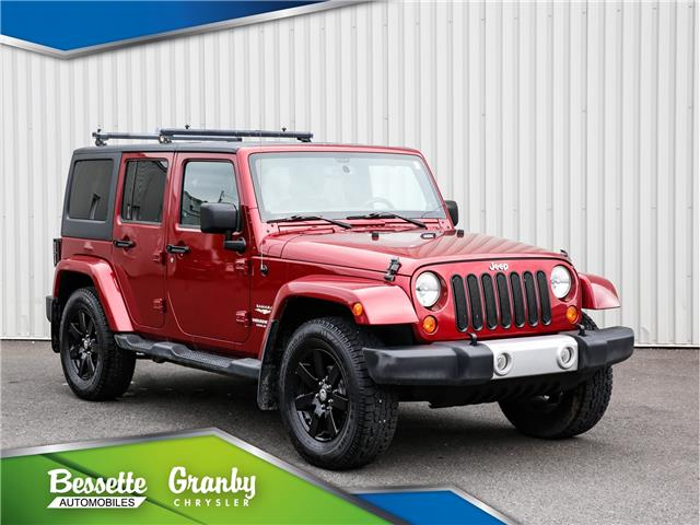 2013 Jeep Wrangler Unlimited Sahara (Stk: B21-437A) in Cowansville - Image 1 of 30