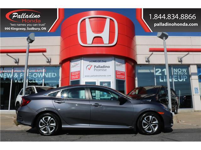 2018 Honda Civic LX (Stk: U10097A) in Greater Sudbury - Image 1 of 31