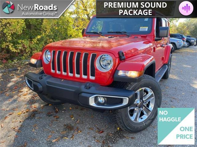2021 Jeep Wrangler Unlimited Sahara (Stk: W20923) in Newmarket - Image 1 of 14