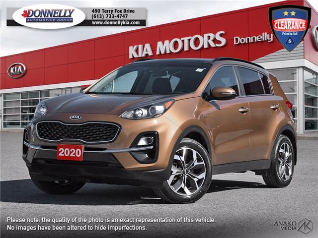 2020 Kia Sportage EX (Stk: KU2564) in Ottawa - Image 1 of 30