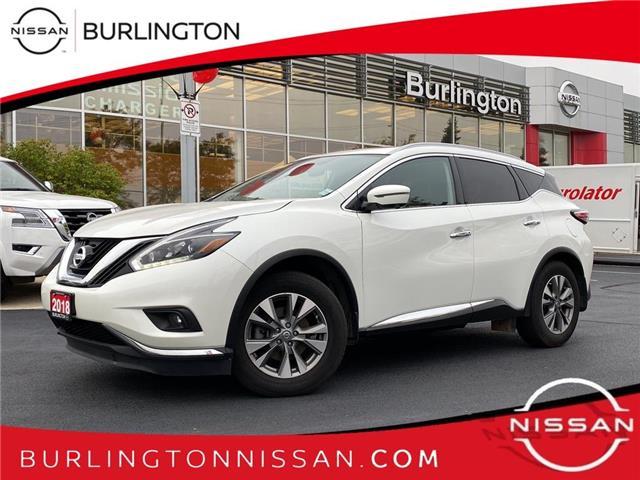 2018 Nissan Murano SL (Stk: A7346) in Burlington - Image 1 of 21