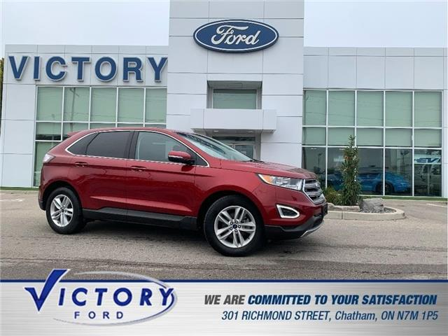 2017 Ford Edge SEL (Stk: V19952A) in Chatham - Image 1 of 26