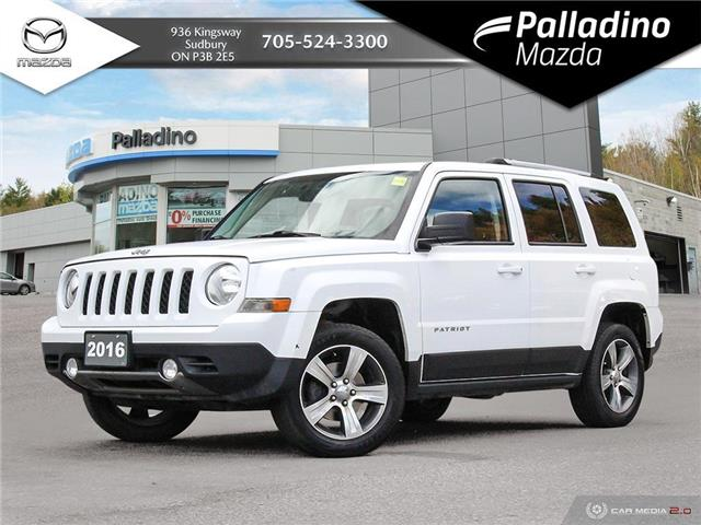2016 Jeep Patriot Sport/North (Stk: 8084A) in Greater Sudbury - Image 1 of 23