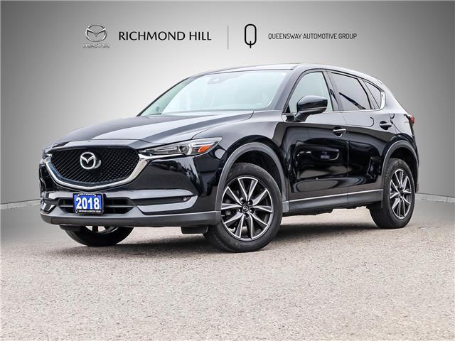 2018 Mazda CX-5 GT (Stk: 21-687DTA) in Richmond Hill - Image 1 of 25