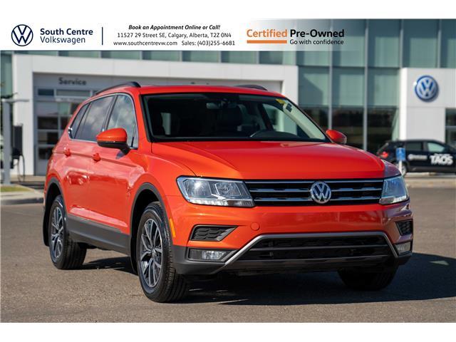 2018 Volkswagen Tiguan Comfortline (Stk: 10409A) in Calgary - Image 1 of 37
