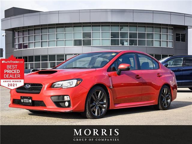 2016 Subaru WRX Sport-tech Package (Stk: 4617) in Winnipeg - Image 1 of 24