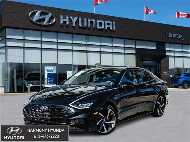 2021 Hyundai Sonata Sport (Stk: 22095A) in Rockland - Image 1 of 30