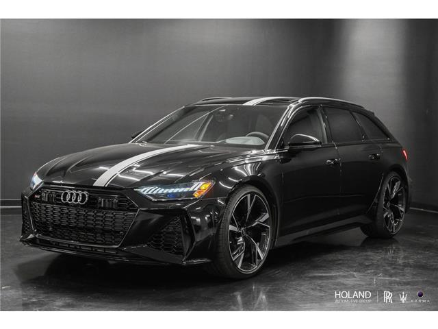 2021 Audi RS 6 Avant 4.0T (Stk: P0957) in Montreal - Image 1 of 30