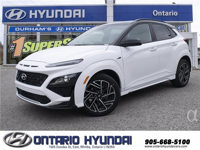2022 Hyundai Kona 1.6T N Line w/Two-Tone Roof (Stk: 810418) in Whitby - Image 1 of 25