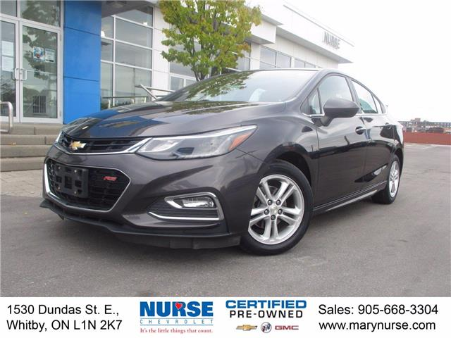 2017 Chevrolet Cruze LT Auto (Stk: 10X595) in Whitby - Image 1 of 26