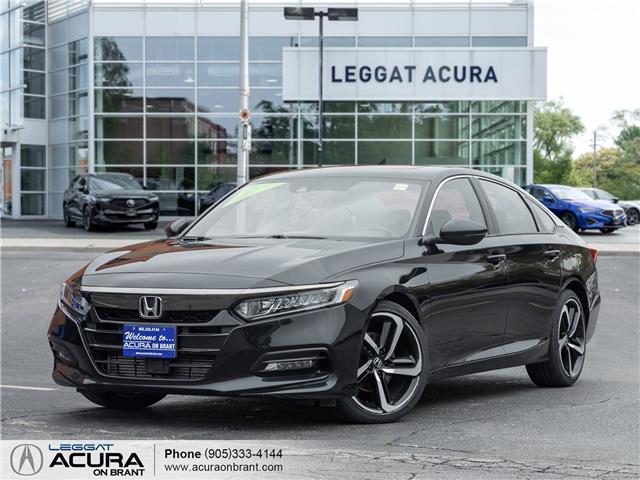 2018 Honda Accord Sport 2.0T (Stk: 4558) in Burlington - Image 1 of 22