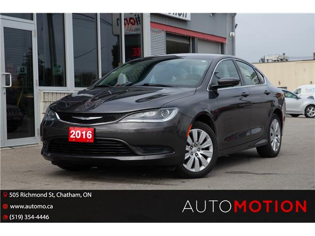 2016 Chrysler 200 LX (Stk: 211873) in Chatham - Image 1 of 20