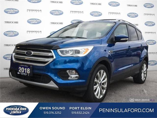2018 Ford Escape Titanium (Stk: 2425) in Owen Sound - Image 1 of 25