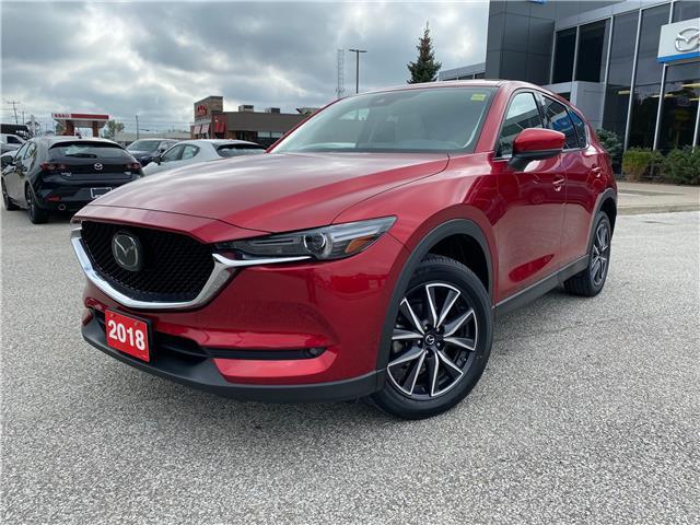 2018 Mazda CX-5 GT (Stk: M4803) in Sarnia - Image 1 of 14