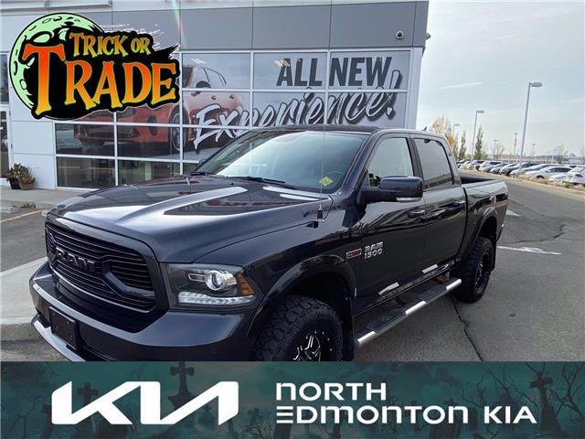 2018 RAM 1500 Sport (Stk: U282851) in Edmonton - Image 1 of 18