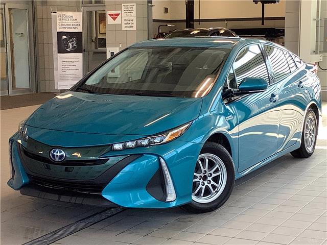 2017 Toyota Prius Prime Base (Stk: P19625) in Kingston - Image 1 of 27