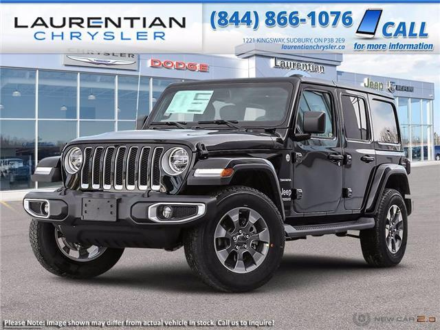 2021 Jeep Wrangler Unlimited Sahara (Stk: 21451) in Greater Sudbury - Image 1 of 23