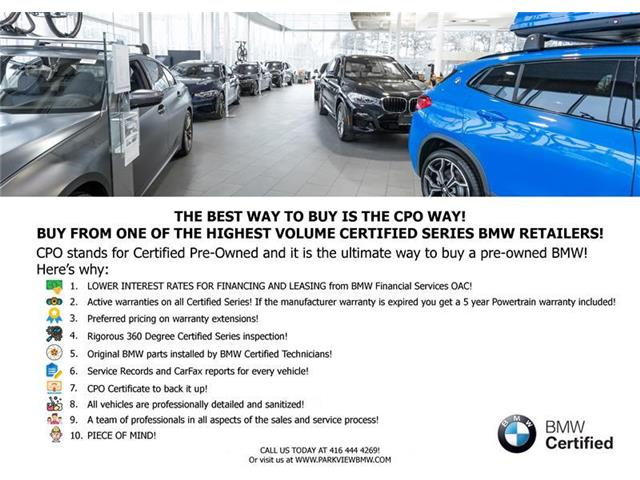 Used 2018 BMW X3 xDrive30i AWD CPO NAV DRIVR.ASST CARPLAY REARCAM - Toronto - Parkview BMW