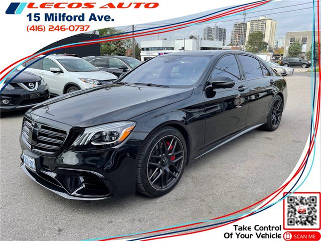 2019 Mercedes-Benz AMG S 63 Base (Stk: -) in Toronto - Image 1 of 11