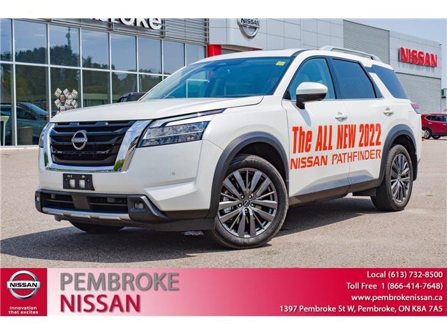 2022 Nissan Pathfinder SL (Stk: 22011) in Pembroke - Image 1 of 28