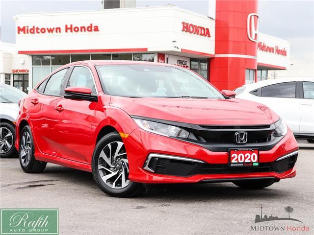 2020 Honda Civic EX (Stk: P15311) in North York - Image 1 of 28