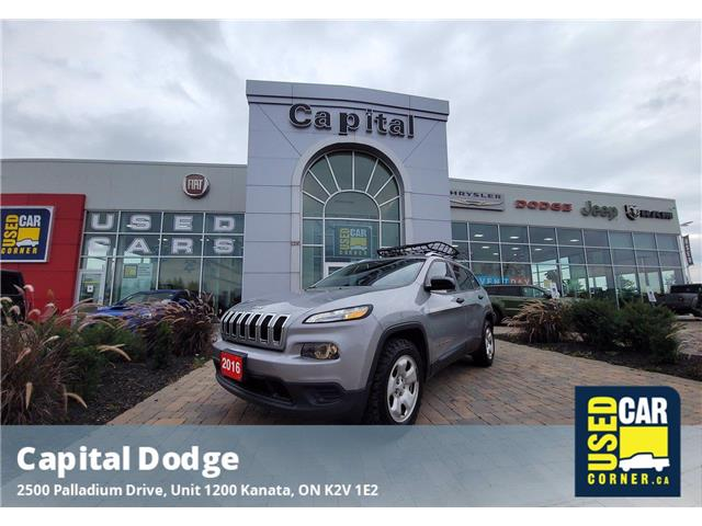 2016 Jeep Cherokee Sport (Stk: M00661A) in Kanata - Image 1 of 25