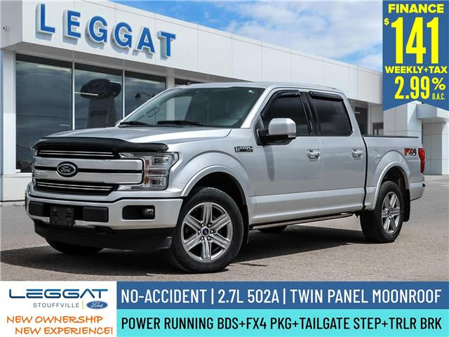 2019 Ford F-150 Lariat (Stk: 21F1017A) in Stouffville - Image 1 of 30