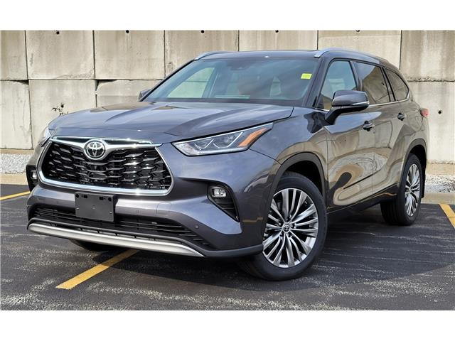 2021 Toyota Highlander Limited (Stk: A61816) in Sarnia - Image 1 of 8