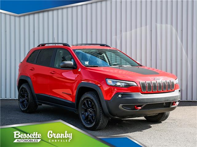 2019 Jeep Cherokee Trailhawk (Stk: B21-472A) in Cowansville - Image 1 of 40