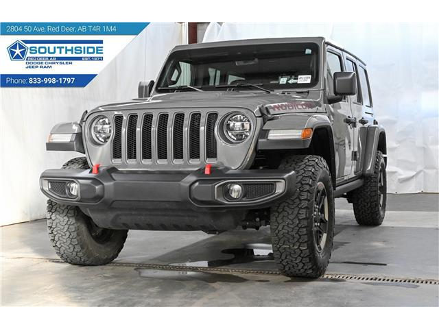 2019 Jeep Wrangler Unlimited Rubicon (Stk: WR2158A) in Red Deer - Image 1 of 29