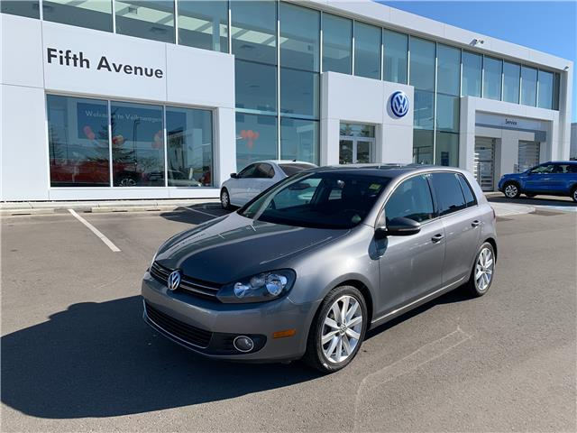 2012 Volkswagen Golf 2.5L Highline (Stk: 3691A) in Calgary - Image 1 of 15