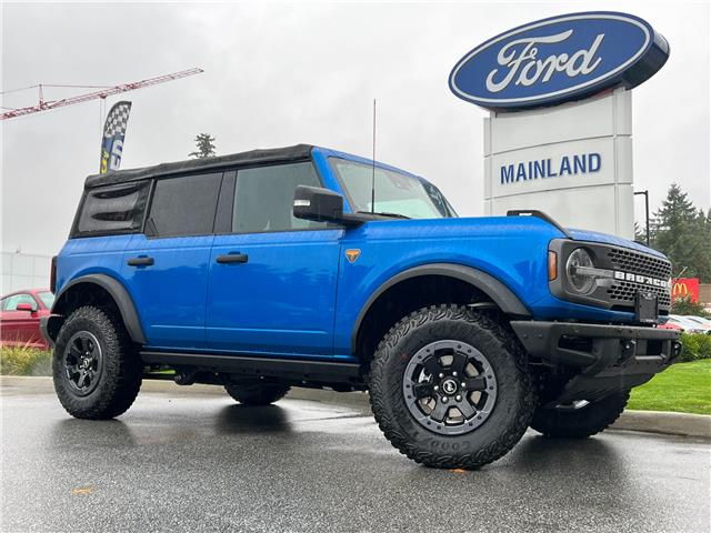 2021 Ford Bronco Badlands (Stk: 21BR5994) in Vancouver - Image 1 of 30