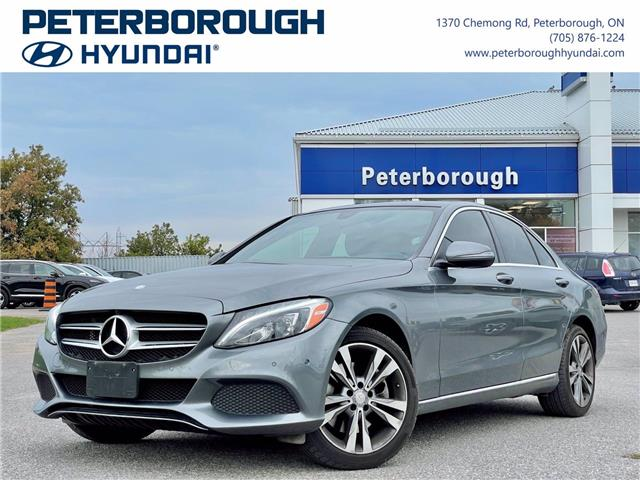 2017 Mercedes-Benz C-Class Base (Stk: H13108A) in Peterborough - Image 1 of 30