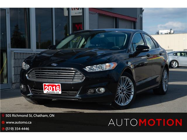 2016 Ford Fusion SE (Stk: 211876) in Chatham - Image 1 of 21