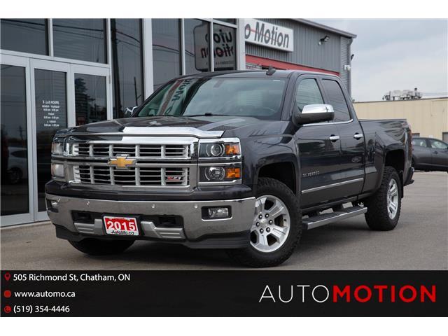 2015 Chevrolet Silverado 1500  (Stk: 211884) in Chatham - Image 1 of 21