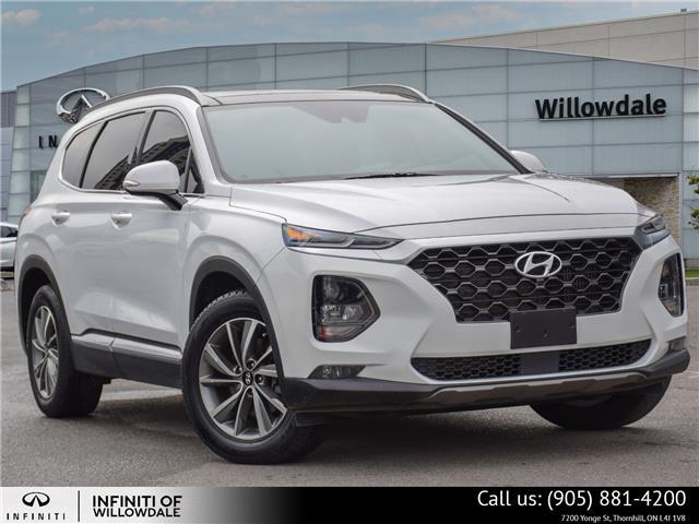 2019 Hyundai Santa Fe Luxury (Stk: H9603A) in Thornhill - Image 1 of 30