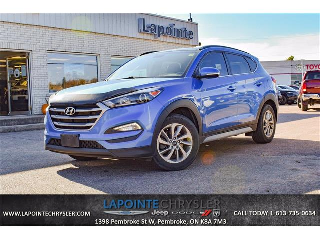 2017 Hyundai Tucson Luxury (Stk: 21078A) in Pembroke - Image 1 of 30